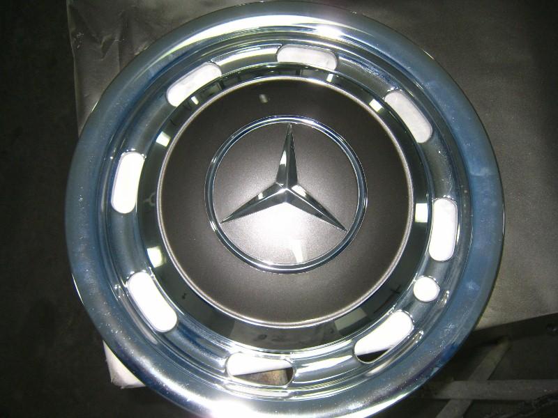 Mercedes Hub Caps : Mercedes hub cap deluxe customs