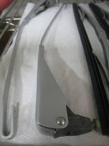 Wiper Chrome Rivets (8)