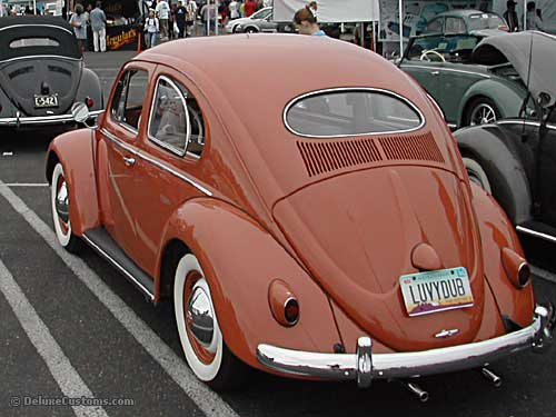 1957 Volkswagen Oval Sedan Bug