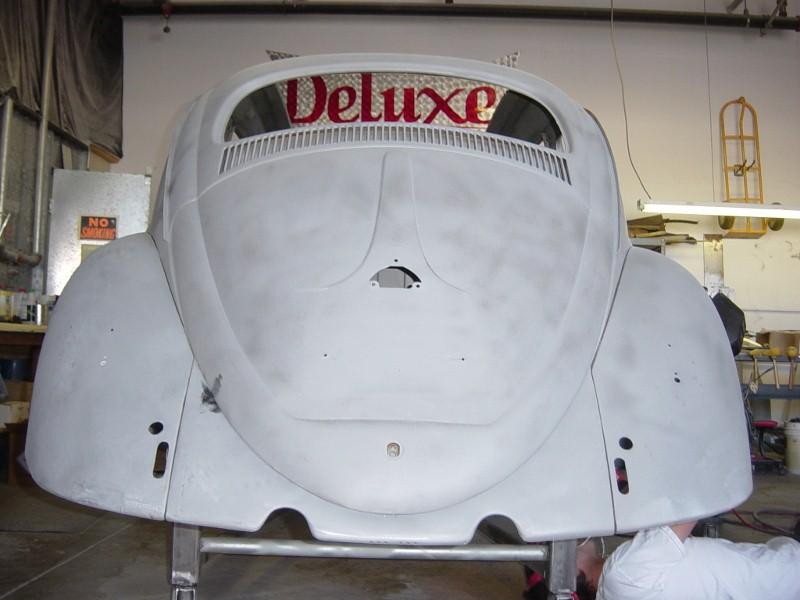 1958 Volkswagen Bug Ragtop Metal Work