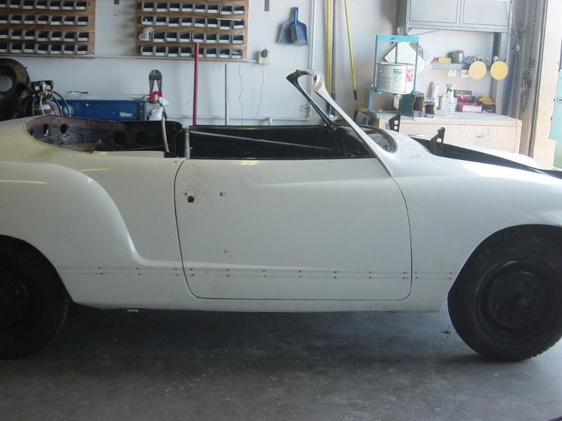 1960 Volkswagen Ghia Cabriolet Rust Repair