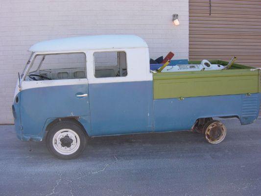1963 Volkswagen Double Cab Bus Metal Work