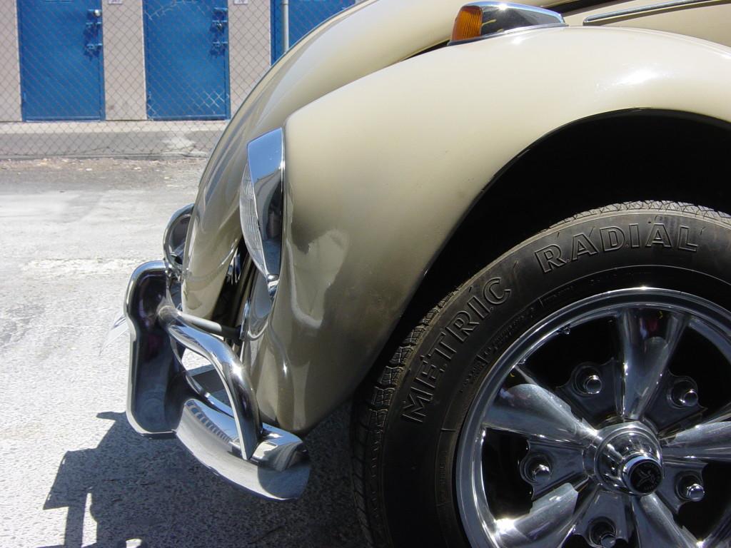 1967 Volkswagen Sedan Front End Collision