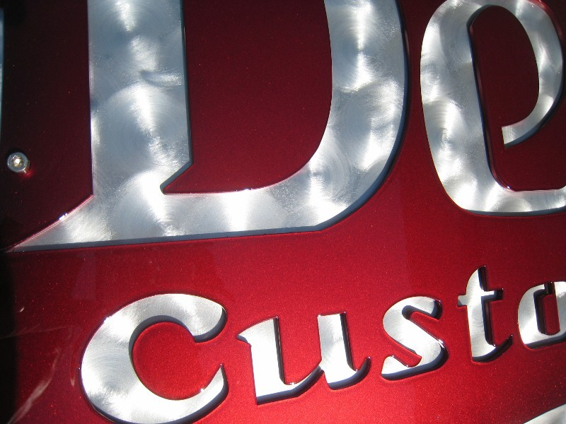 Deluxe Shop Sign
