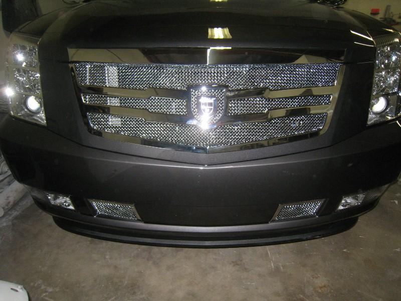 Cadillac ESV Lexani Grille Install