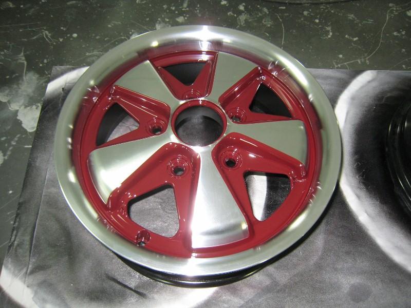 Porsche Fuchs Red