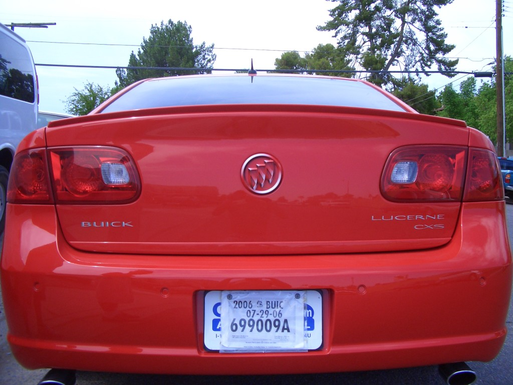 Buick Lucerne Custom Emblems and Grille