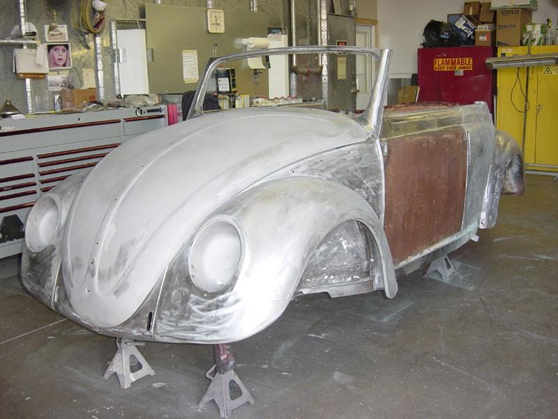 1950 Volkswagen Split Window Cabriolet Rust Repair
