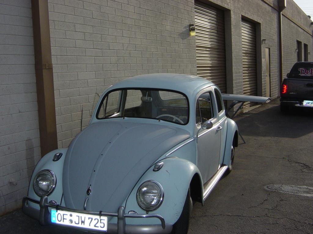 1960 Volkswagen Bug Ragtop Conversion