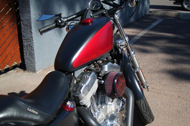Custom Harley Sportster